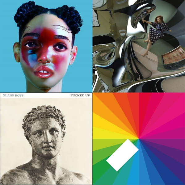 Top-right going clock wise: FKA twigs'