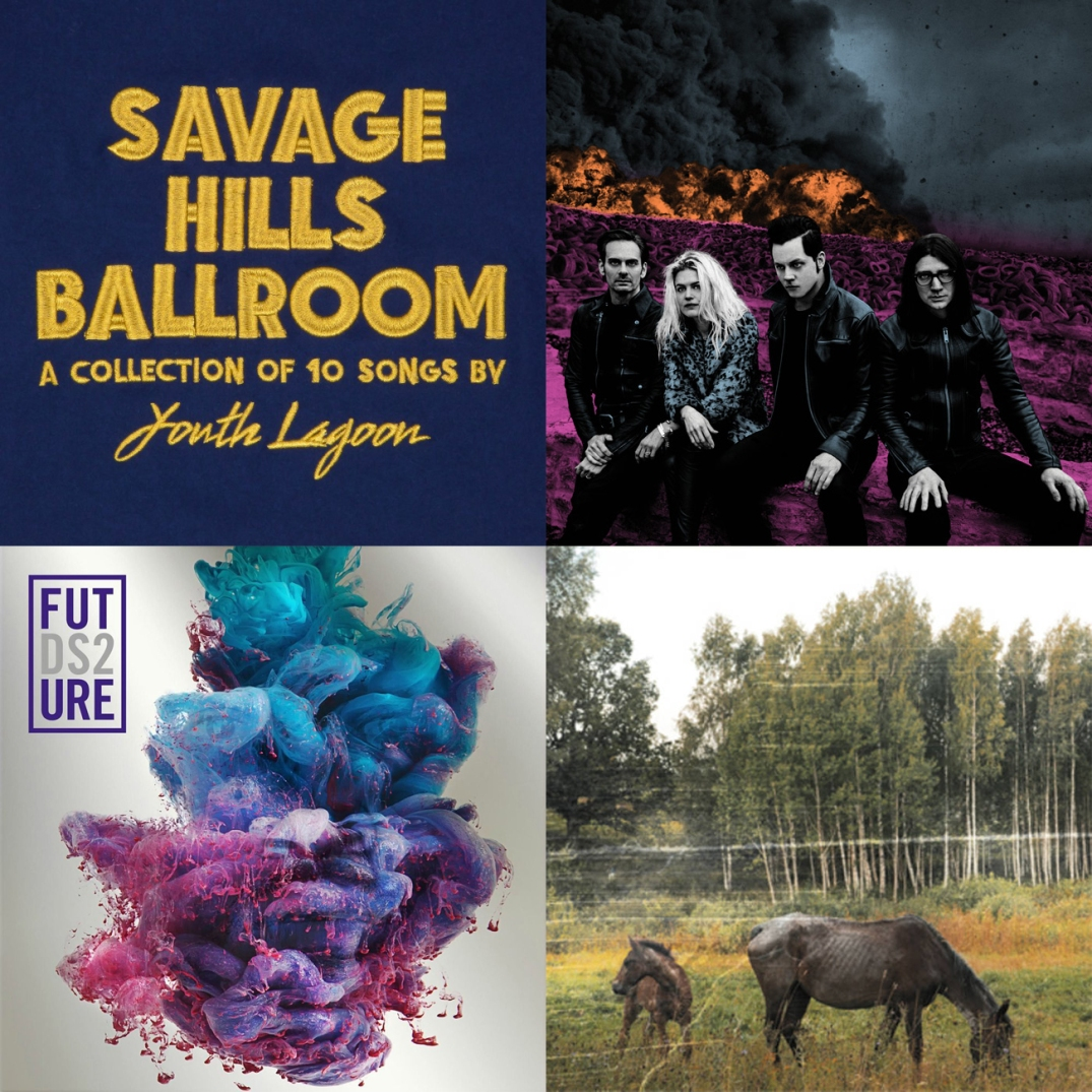 Youth Lagoon - Savage Hills Ballroom, The Dead Weather - Dodge and Burn, Furure DS2, Pianos Become The Teeth - Old Pride