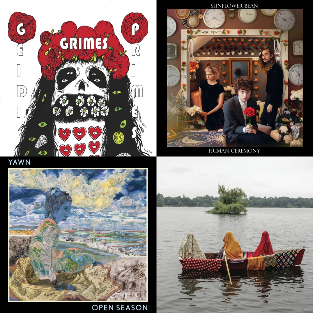 Grimes, Sunflower Bean, local Chicago group Yawn, and Quilt.