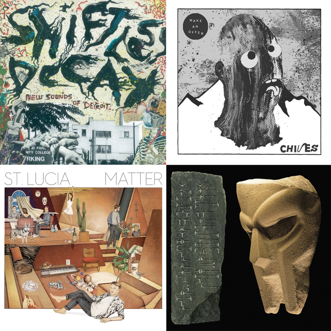 Detroit Rock, Chives, St. Lucia, MF DOOM and more new vinyl available this week at Shuga Records Chicago