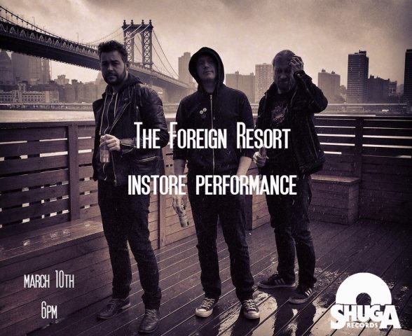 Foreign Resory instore performance at Shuga Records Chicago